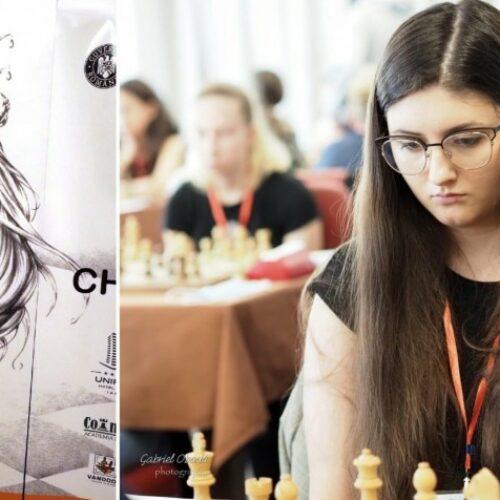 Szachistka Oliwia Kiołbasa wywalczyła medal na Mistrzostwach Europy. Gratulujemy