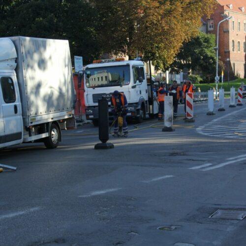 Ruszył remont ulicy Partyzantów. Zmieniła się organizacja ruchu