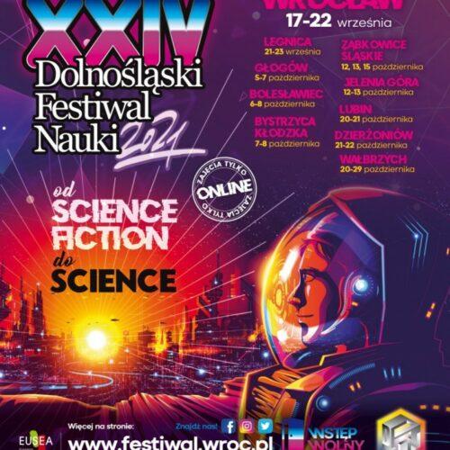 XXIV Dolnośląski Festiwal Nauki tuż, tuż. W Legnicy przez trzy dni